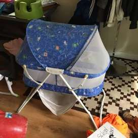 Imported box pack baby cot