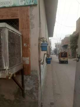 5 marla house for sale with 5 shops on road corner house
