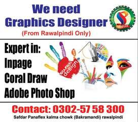 Need Graphics Designer