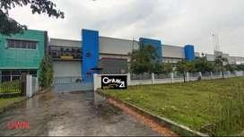 Gedung + Gudang semi furnish di kawasan industri Delta silicon Bekasi