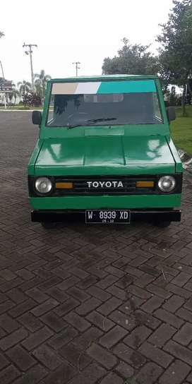 Toyota kijang pick up th 83 plat w sda surat komplit