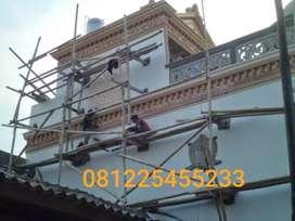 Renovasi rumah,kebocoran atap,bangun baru,pengecatan,kelistrikan