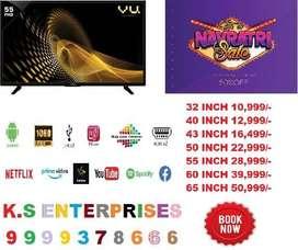 @Navratri Mega Sale 32 Inch Full Smart Full Android Led Tv [Call Now]