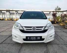 Honda CRV 2.4 Putih thn 2011 Upgrade Sound System AT Matic Mesin 2400