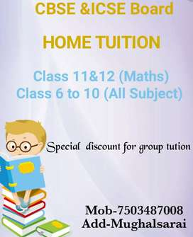 Teacher home tution