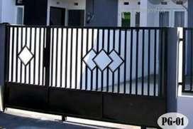 jasa pembuatan pagar rumah pekanbaru