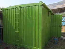 Portable site office container bunkhouse