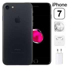 I phone 7 black 99.99% condision 32 gb