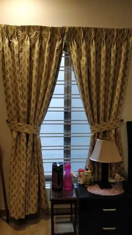Beautiful branded cloth set of curtains