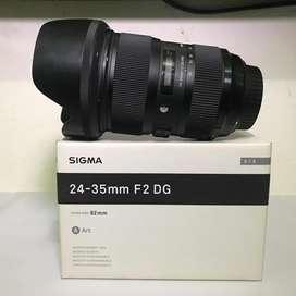 Sigma Art 24-35 F2