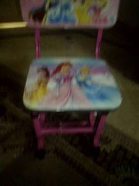 Study table chair for girls .up to 10years