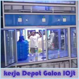 Peluang buka Usaha : Depot air Galon 10jt