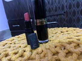 Nelf highlitghter +lipstick
