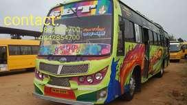 2015 model Ashok leyland bus with gemini body at good condition
