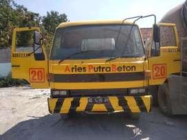 Jual truk mixer isuzu th 1996