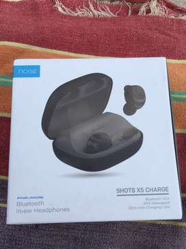 Noice ahots X5 charge True wireless Blutooth headset with mic,