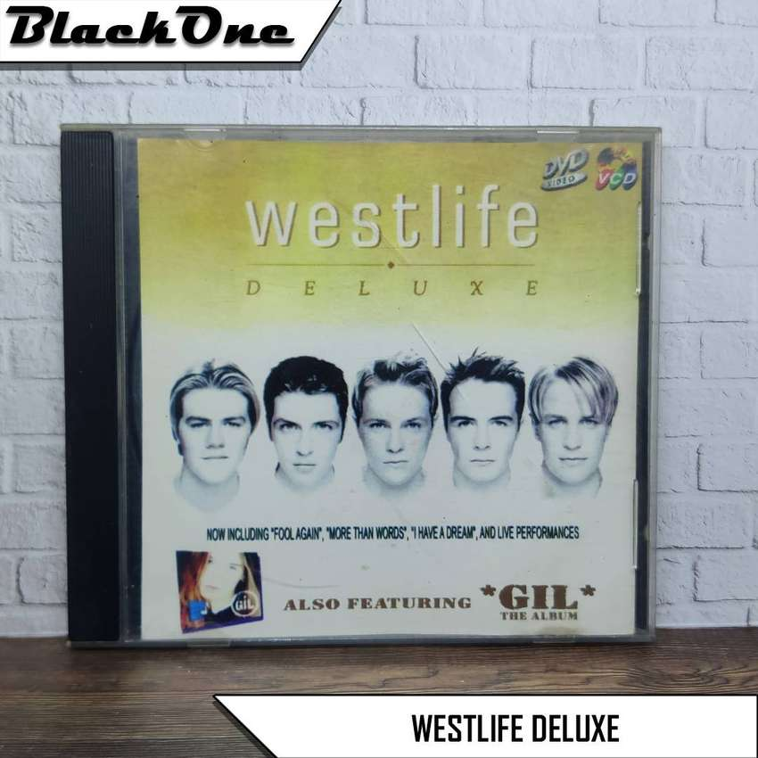 Westlife Deluxe VCD Musik