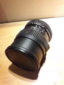 Lensa manual langka SLR MAGIC 17mm T/1.6 Cine MFT