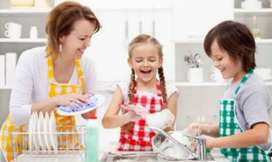 Baby sitter required at gulshan 13-D for day time