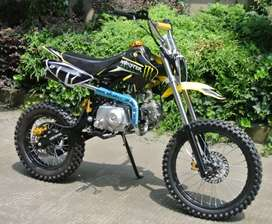 125cc moto cross for adults in petrol engine