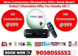 Unlimited dhamakha Day Offer!! Tata sky Airtel Dishtv Tatasky HD Now!!