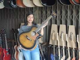 Gitar akustik elektrik xcort