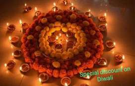 TOTAL 2,00,000 /-.DISCOUNT ON THE OCCASION OF DIWALI-1 BHK FLAT SALE