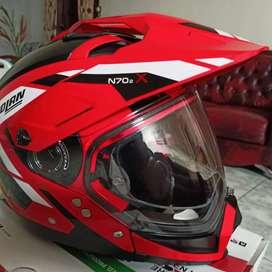 Helm Nolan N70-2X Grandes Alpes Corsa Red (L)