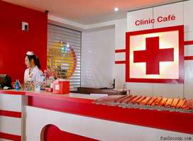 Dibutuhkan crew The cafe clinic