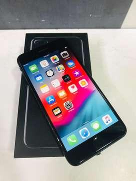 Iphone 7 plus 128gb jet black full kit