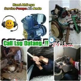Jasa servis service pompa air/sanyo sumur bor gali suntik sedot wc