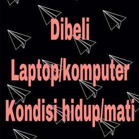 Dibeli laptop hidup/mati