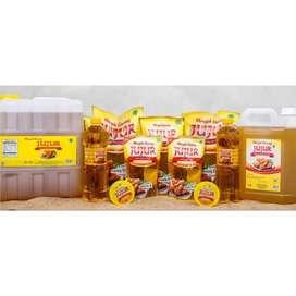 Jual minyak goreng JUJUR murah open reseller dan distributor