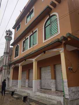 5 marla plaza new constructed total rent 82000 per month