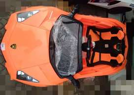Mobil Aki mainan anak Lamborghini sport baru ful stok