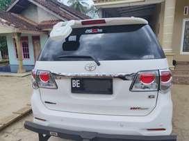 Toyota Fortuner Pemakaian 2013