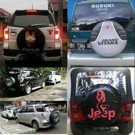 Cover/Sarung Ban Serep Toyota Rush/Terios/PantherMantap Beud  kami sud