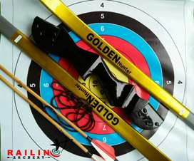 Busur standar recurvebow dewasa golden hunter R40