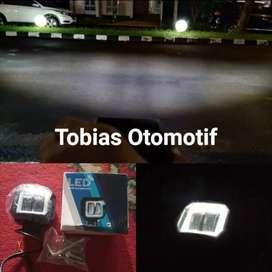 Lampu Tembak Sorot Offroad LED Cree Cut Off Angel eye