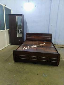 brand new wardrobe with double bed