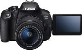 Canon 700d for Rent