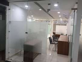 15x50 showroom  fully furnished available for sale near