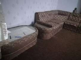 Sofa 6seater with. table