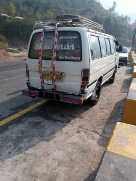 Toyota hiace with good condition