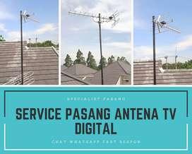 Pasang Baru Antena Tv Led Biar Jernih Jasinga