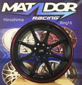 Matador Velg Mobil HSR Manado Hiroshima Ring16