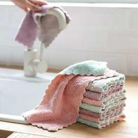 Kain Lap Dapur Microfiber Cleaning Cloth - Mix Color