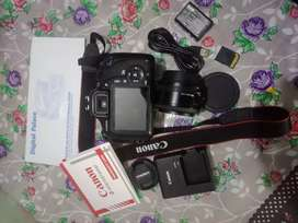 Canon 1200d with 50 mm lens