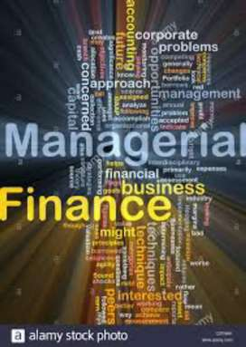 Accounting and finance expert required