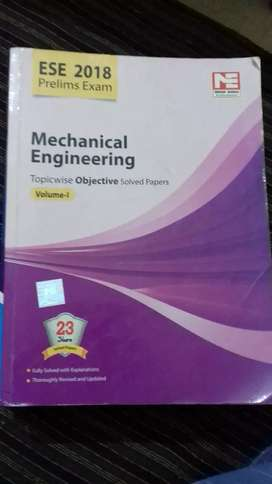 ESE prelims Exams Book topicwise solved paper